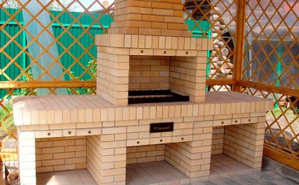 Как построить барбекю из