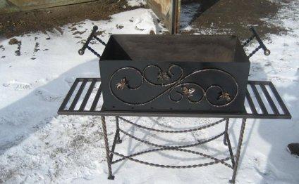 Изготовить мангал из металла