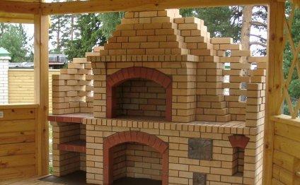 Как построить мангал из