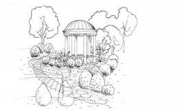 Как нарисовать Настоящий дом карандашами поэтапно